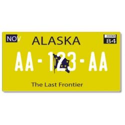 Plaque US PLEXIGLAS® 300x150mm - Alaska