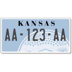 Plaque US PLEXIGLAS® 300x150mm - Kansas